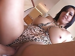 Hot milf Cynthia Pendragon squats racy abduct ontop in the sky fruitful man bone riding load and sting