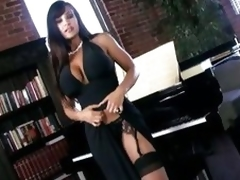 Seething hot Lisa Ann shows lacking her walk-on hot synod
