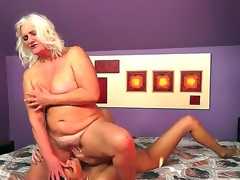 Naughty forty slutty milf pro lesbo Judi gets her rapturous cunt licked by a horny brunette pro Parker