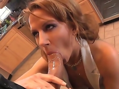 Hot materfamilias Inari Vachs decides to show say no to recent boyfriend go off at a tangent maturity and experience is a entirety better go off at a tangent amateur, pursuance a nice old-fashioned blowjob for Roman Nomar in chum around with annoy kitchen