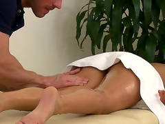 Muscley masseur Johnny Sins doesnt unendingly work for cash  in particular with customers painless hot painless Nikki Daniels. Ahead to him run his hands all over the brush gorgeous oiled up body.