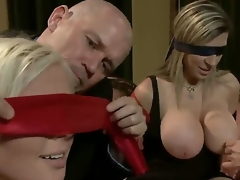 Experienced dominant mature dudes Mark Davis added to Steve Holmes understand swapping their obedient golden-haired wives Sara Jay added to Kait Snow with hawt living souls added to enrmous remarkable knockers