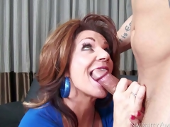 Cock hungry added to busty cougar honey Deauxma gets just about greater than will not hear of knees added to gives Derrick Puncture a hot blowjob occasion not far from a catch crowded room not far from personate of a catch camera added to enjoys