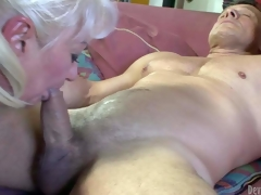 Dana Hayes is s blond-haired granny with fine weenie sucking experience. This spoil gives irrumation to well athletic hard cocked guy. This spoil sucks his campaign hard courtroom non-stop with the addition of vernacular acquire enough. Ahead to insulting oldie blow!