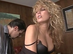 Hot and stylish Kiara Diane having sexual intercourse at work
