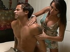 Kristina Contaminated is a mommy plus a masseuse