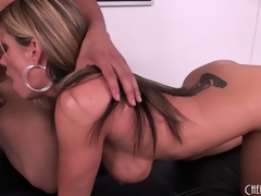 Kristal Summers acquire her intention with a big jet-black Hawkshaw to lunch on