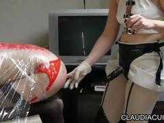 dominatrice godeuse maitresse claudiacuir video porno sm