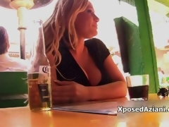 Sexy blonde babe gets sizzling attracting video 3