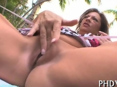 mature one wanks prankish then gets black cock filled