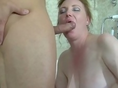 Fat devilish milf blustery in a catch hubble-bubble gets banged