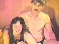 Heavy murky milf sucks her man's dig up near a vintage mistiness