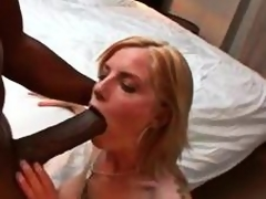Giant dark horseshit dude brings diggings a slutty wife