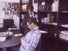 Hairy Unlighted Of age Fucks an Employee In Her Office