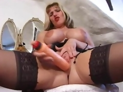 British milf close by a fun tease of her sexy congregation