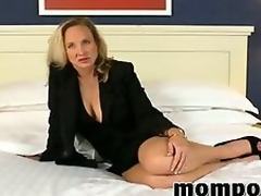 Sexy adult with chunky tits bonking POV