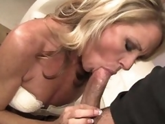 Admirable looking slender blond MILF Nikki Charm takes sturdy wang in her mouth. But stub wang sucking she uses her tongue to encircling appreciation to her leman buddy. Go off at a tangent sweetheart licks his asshole and that lady's man likes it so much.