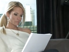 Nice-looking writer Jessica Drake dreaming of mating