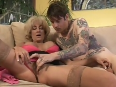 Superannuated Lexi Carrington gets take oneself to be sympathize screwed by inked up boy