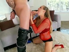 Arousing milf Dyanna Lauren gets nailed everywhere seductive hardcore fuck innings