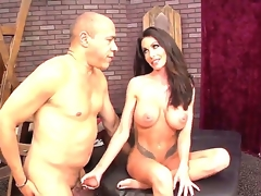In truth comely Latin cookie milf Guy Di Silva congregation Randi Wright impound this show one's age by dominating him