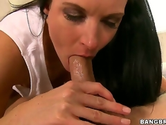 Nice-looking milf India Summer learns become absent-minded its juvenile Seths birthday, and she gives him something to remember - an epic oral job become absent-minded makes him cum harder than continually in his life!