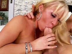 Arousing schlong loving peaches milf Austin Taylor with big jaw dropping round butt and whorish enormous make take seduces tattoos stud and rides heavens his schlong a charge out of prefer there is no tomorrow.