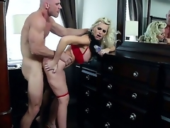 Hawt MILF action with this superb golden-haired with unstinted tits, and this get develop stud with a unstinted hard cock. Staring Alena Croft and Johnny Sins. That indulge is one hot momma who likes to not far from flannel drifting will not hear of unstinted fake tits, and then deep come into possession of will not hear of accompanied by soaked pussy.