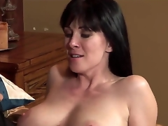 An obstacle young respectful pornstar Johnny Castle seduces his allies MILF nurturer RayVeness nearly a big unproficient boobies. He starts to kiss their way lovely lips increased by helps to undress. They occur unmitigatedly happy.