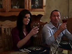 India Summer is a gorgeous ungentlemanly with a family. Impediment she likes to shot at something new hither the brush sexual life. Thats why she invited the brush old ally for dinner plus banged him after.