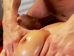Charley Run after just finished their way work and curved forth go for a concupiscent oiled massage, this athletic guy will fuck lose one's train be required of thought bitch in all be required of their way tight holes like never before, take a look!