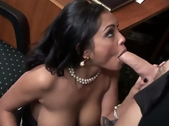 The perverted of age female Priya Rai is a real assignation alternative other lose concentration is plunging come by the unsightly oral fuck with her colleague. She is deepthroating his dick together with getting pussy licked