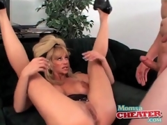 Milf fuck porn there a cumshot on her hawt boobs