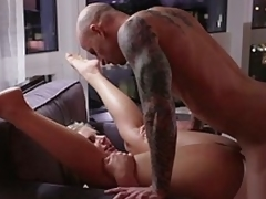 Phoenix Marie receives her ass drilled by a client