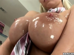 Sweet, oiled relating to titties and wet pussy ask pardon this Hungarian ultra lascivious