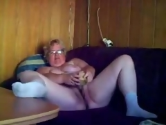 First-rate masturbation be advantageous to horny granny