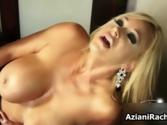 Gorgeous milf about titanic tits needs a dildo