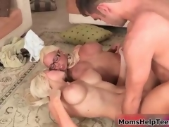 Hot blonde babes succeed in gung-ho