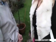 Lilou a french milf gets anal fucked hard