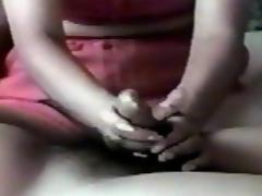 Milf handjob orgasm