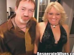 Sexy Blonde Slattern Wife Jackie Graduate Trainer