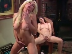 Big tittied MILFs masturbate jibe a piano lesson