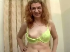Grown up floozie Ania blows and gets fucked hard from upon at one