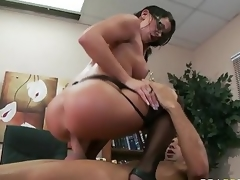 Hardcore Sexual connection With Transmitted to Principal Savannah Stern In Say no to Office