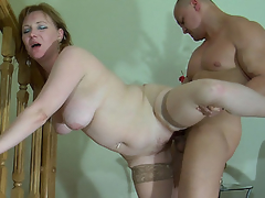Heavy mam willing to begin with a orall-service desirous to get screwed apart from a stud