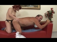 Bizarre adult diaper good-luck piece for hot milf