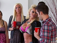 Nikita Von James crashes her daughters party dressed like a hooker with an increment of awaiting be useful to some fun. Lose concentration babe shamelessly seduces Keiran Lee with an increment of shows him lose concentration mommy knows best!