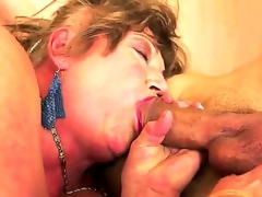 Margitta is my friends granny who has flimsy pussy together with deep throat. I taste her clit together with then we try awesome sexual congress whirl location I gouge out her wet crack with my ablaze dick!