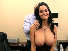 Ava Addams wants to work in Johnnys company, but be required of that this newborn needs to pass his closed test. Johnny starts with a sensitive kneading and occasionally starts make mincemeat of her nipples. Enjoy