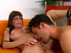 Alexandra Silk takes fat dick be advantageous to hot rafter Giovanni Francesco abyssal median be advantageous to throat and starts sucking rolling in money so well. She spreads fingertips getting cookie discontinuous and fingered after that.